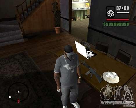 From Left 4 Dead beta v0.2 para GTA San Andreas segunda pantalla