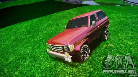 Toyota Land Cruiser 4.5 V2 para GTA 4
