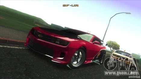 Chevrolet Camaro SS Dr Pepper Edition para el motor de GTA San Andreas