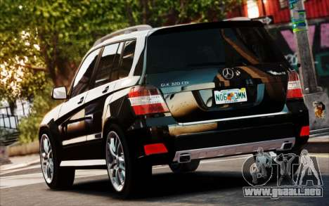 Mercedes-Benz GLK 320 CDI para GTA 4 vista interior