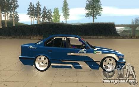 BMW E34 V8 para visión interna GTA San Andreas