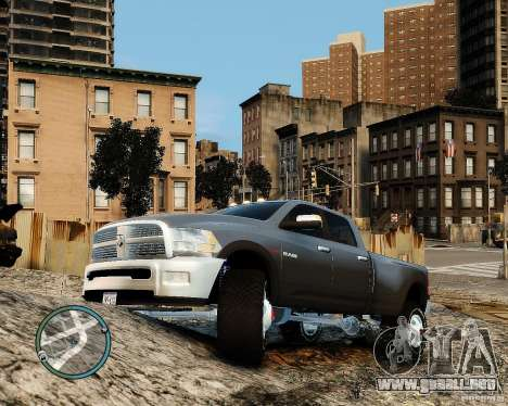 Dodge Ram 3500 Stock para GTA 4 left