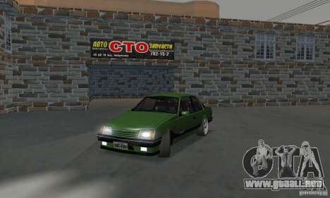 Chevrolet Monza SLE 2.0 1988 para GTA San Andreas
