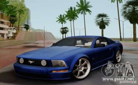Ford Mustang Twin Turbo para GTA San Andreas