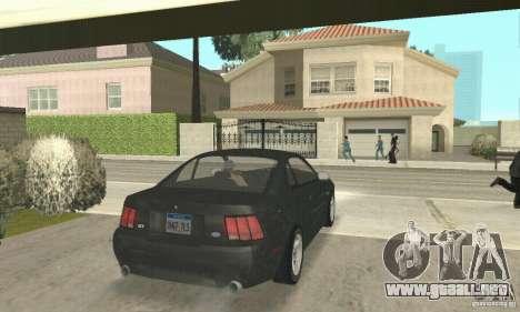Ford Mustang GT 1999 (3.8 L 190 hp V6) para GTA San Andreas left