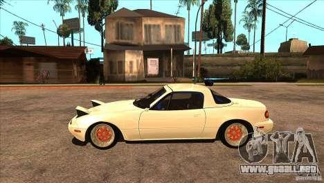 Mazda Miata JDM para GTA San Andreas left