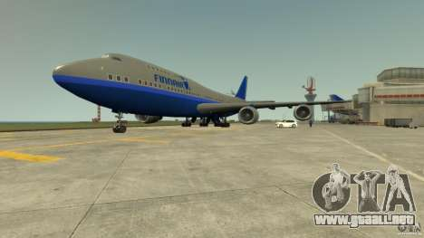 Finnair Airplane Mod v1.0 para GTA 4