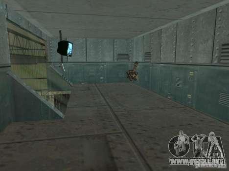 Zona abierta 69 para GTA San Andreas novena de pantalla