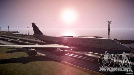 Air Force One v1.0 para GTA 4 visión correcta
