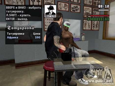 Nuevos tatuajes para GTA San Andreas tercera pantalla