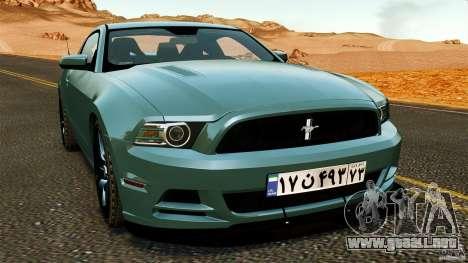 Ford Mustang Boss 302 2013 para GTA 4