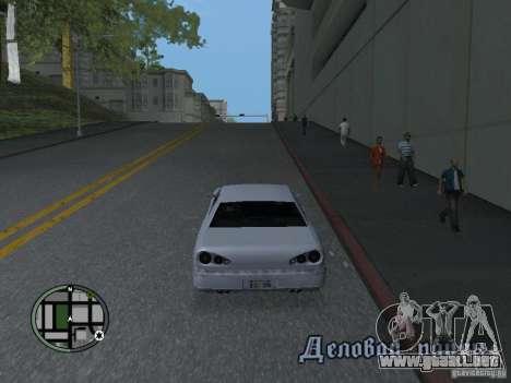 Elegy HD para GTA San Andreas left