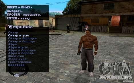 Nuevo CJ para GTA San Andreas octavo de pantalla