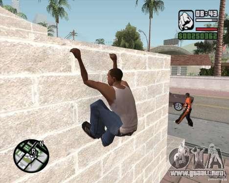 GTA 4 Anims for SAMP v2.0 para GTA San Andreas sucesivamente de pantalla