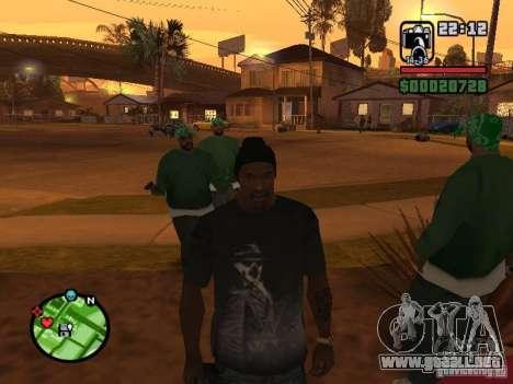 Watchmen Rorschach camisa para GTA San Andreas tercera pantalla