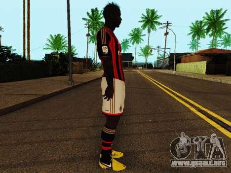 Mario Balotelli v1 para GTA San Andreas segunda pantalla