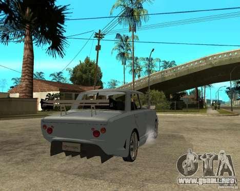 VAZ 2101 coches TUNING por ANRI para GTA San Andreas vista posterior izquierda