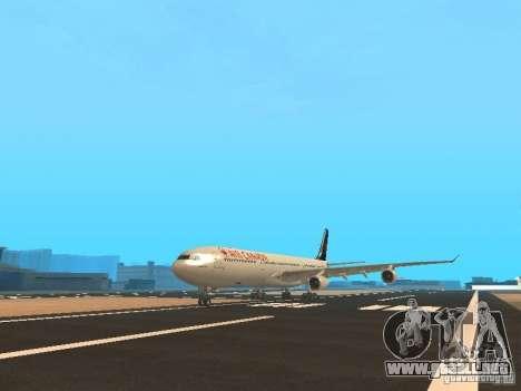 Airbus A340-300 Air Canada para GTA San Andreas