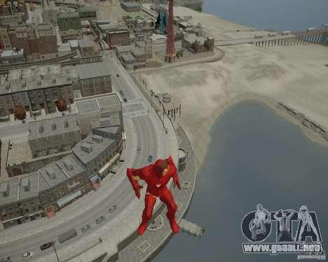 Iron Man Mk3 Suit para GTA 4 octavo de pantalla