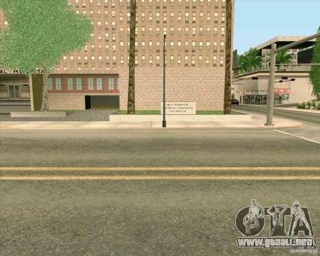 Nuevas texturas Hospital General de todos los Sa para GTA San Andreas séptima pantalla