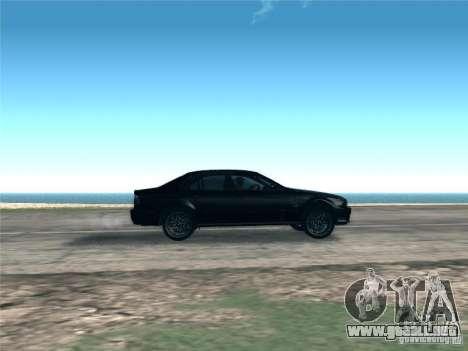 BMW M5 E39 2003 para visión interna GTA San Andreas