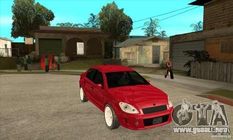 GTA IV Premier para GTA San Andreas vista hacia atrás