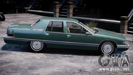Buick Roadmaster Sedan 1996 v1.0 para GTA 4 interior