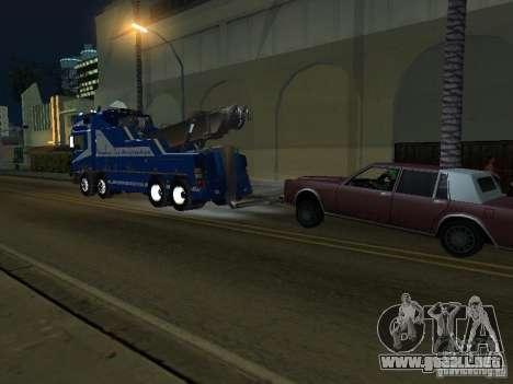 MAN F2000 (con guión de CLEO) para visión interna GTA San Andreas