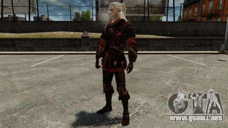 Geralt de Rivia v4 para GTA 4 quinta pantalla