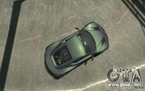 Zenvo ST1 2010 v2.0 para GTA 4 visión correcta