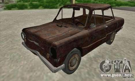 ZAZ 968 abandonado v. 2 para GTA San Andreas left