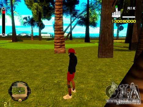 Piel vago v1 para GTA San Andreas tercera pantalla