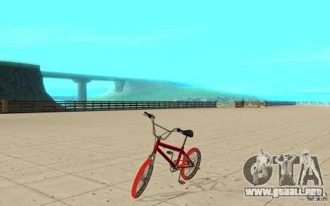 Zeros BMX RED tires para GTA San Andreas