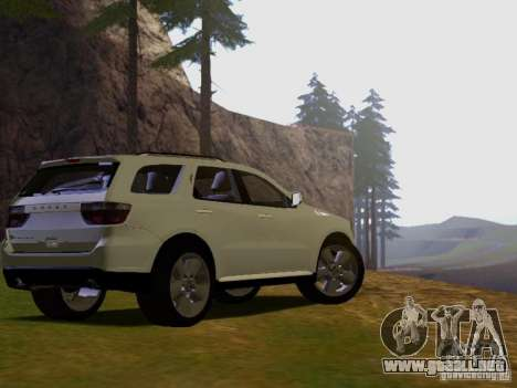 Dodge Durango 2012 para GTA San Andreas left