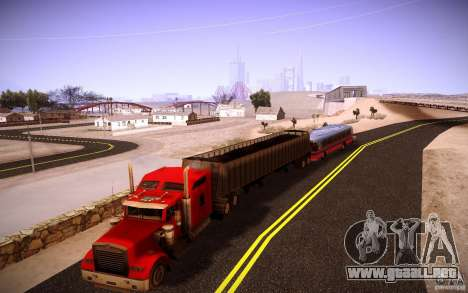Kenworth W 900L para la vista superior GTA San Andreas