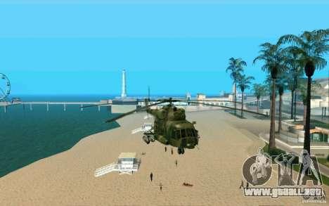 MI-8 para la visión correcta GTA San Andreas