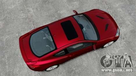Hyundai Genesis Coupe 2013 para GTA 4 visión correcta