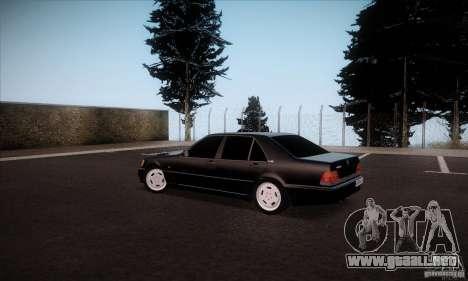 Mercedes-Benz 600SEL AMG 1993 para GTA San Andreas left