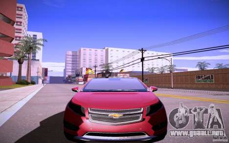 Chevrolet Volt para GTA San Andreas left