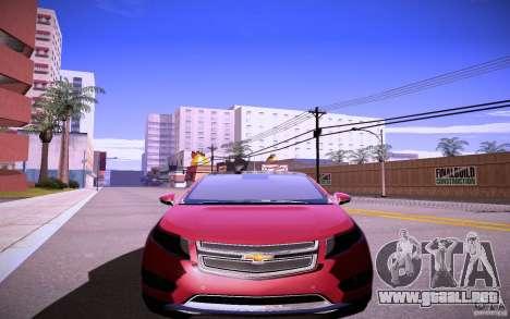 Chevrolet Volt para GTA San Andreas left
