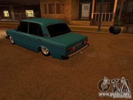 Hobo 2106 VAZ para visión interna GTA San Andreas