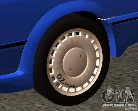 Z-s wheel pack para GTA San Andreas quinta pantalla