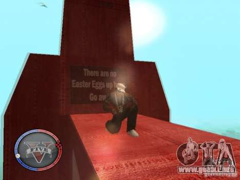 GTA 5 HUD para GTA San Andreas novena de pantalla