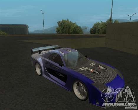 Mazda RX-7 Veilside Fortune para GTA San Andreas left