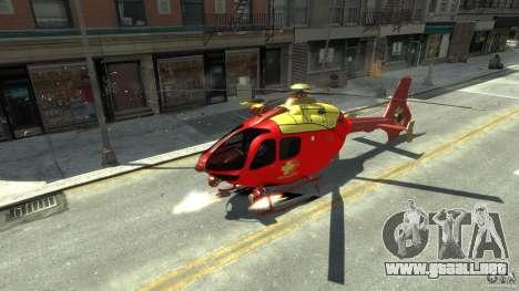 Medicopter 117 para GTA 4 left