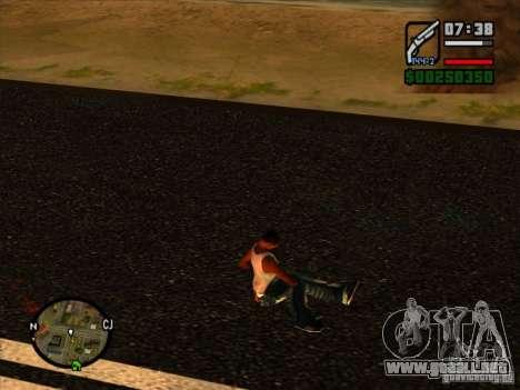 Basura de la explosión para GTA San Andreas tercera pantalla