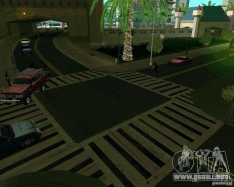 GTA 4 Road Las Venturas para GTA San Andreas sexta pantalla