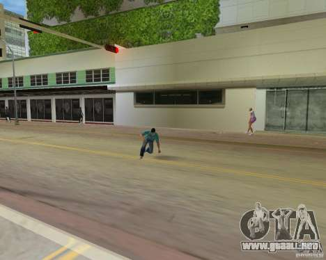 Animación de TLAD para GTA Vice City