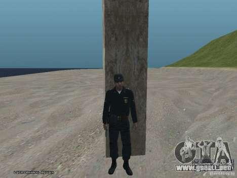 Sargento PPP para GTA San Andreas segunda pantalla