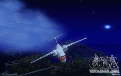 Antonov 74 para visión interna GTA San Andreas
